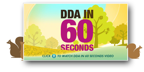 DDA in 60 Seconds