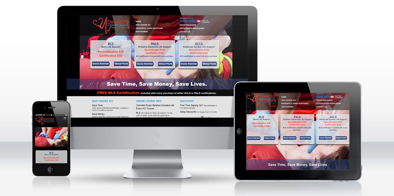 Advanced Certification Institute Medical Elearning Website 2015