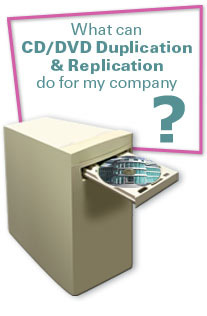 What can CD/DVD Duplication and Replication do for my company?