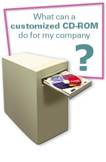 What can a customized CD Rom do for my company?