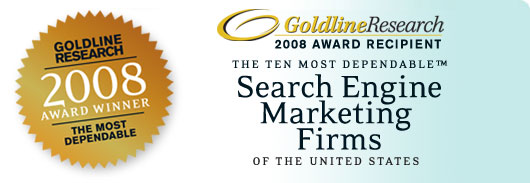 One of the Ten Most Dependable Search Engine Marketing Firms in the U.S.