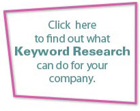 Click here to find out what keyword research can do for your company.