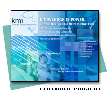 Featured large format graphic for KMI