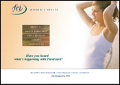 Medical Website for FEI Women's  Health