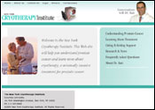 Medical Website for New York Cryotherapy Institute