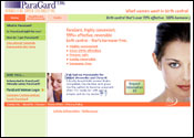Medical Website for ParaGard IUD