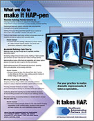 HAP Medical Print Trade Ads