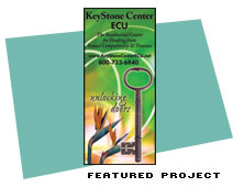 Trade Show Banner Graphic for KeyStone Center Extended Care Unit