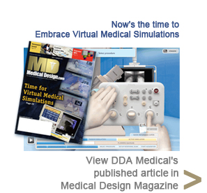 View DDA Medical's published article in Medical Design Magazine